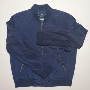 AEO Mens Nylon Bomber Jacket